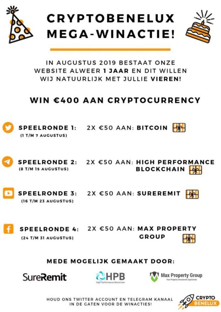 CryptoBeneluxwinactie