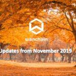 Wanchain maandelijkse update van november