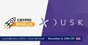 CryptoBenelux Dusk Network AMA