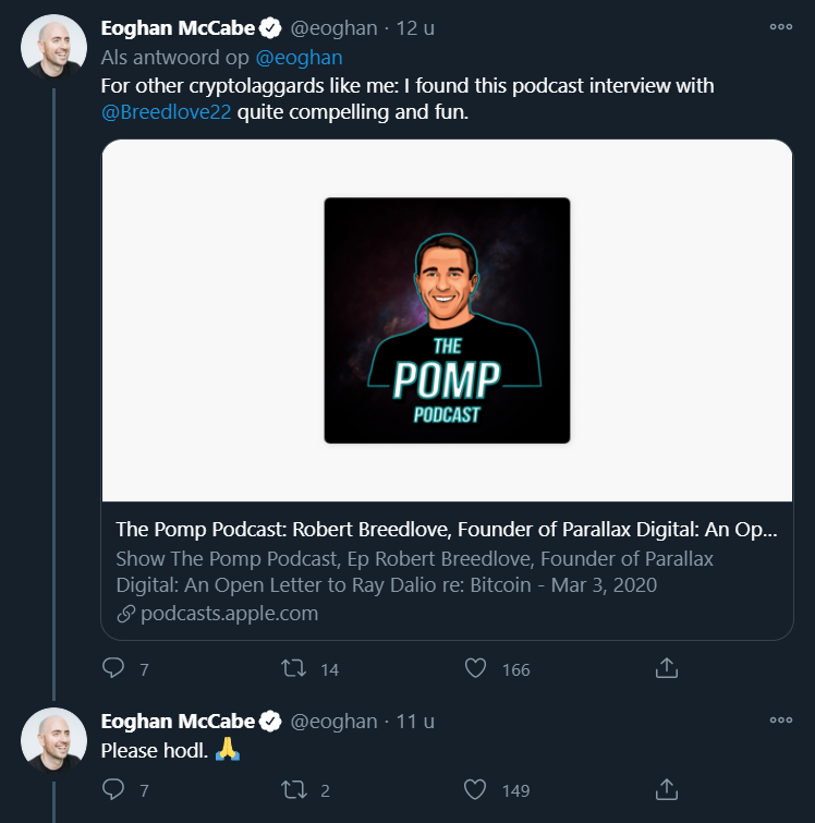 Eoghan McCabe Bitcoin