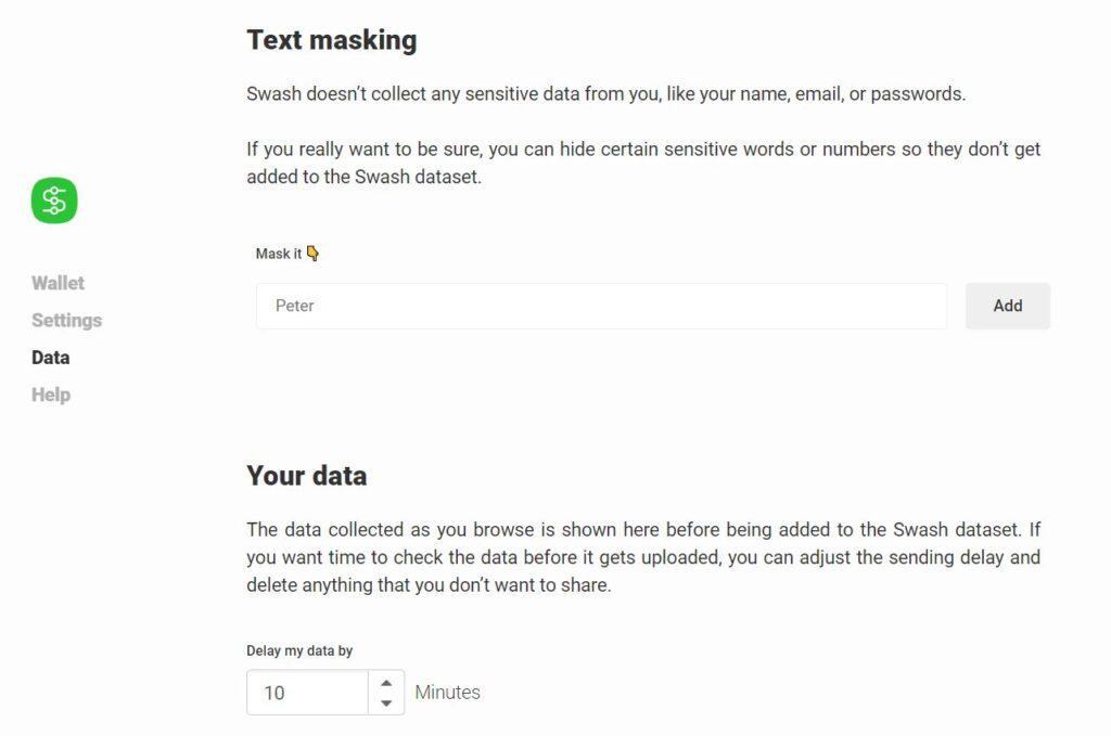 swash installeren data verzamelen